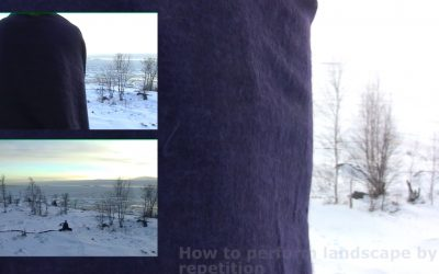 """VIDEO """"How to perform landscape by repetition?"""" by Annette Arlander"""